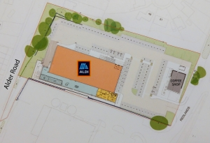 See plans for new Aldi to open on Alder Road