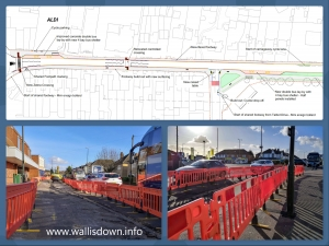 Wallisdown Roadworks - 26 February 2020 Update