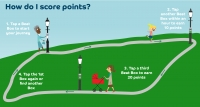 Try the local giant walking and cycling game this Autumn