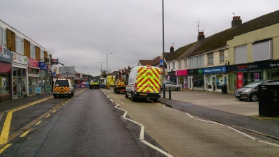 Wallisdown Road Closed