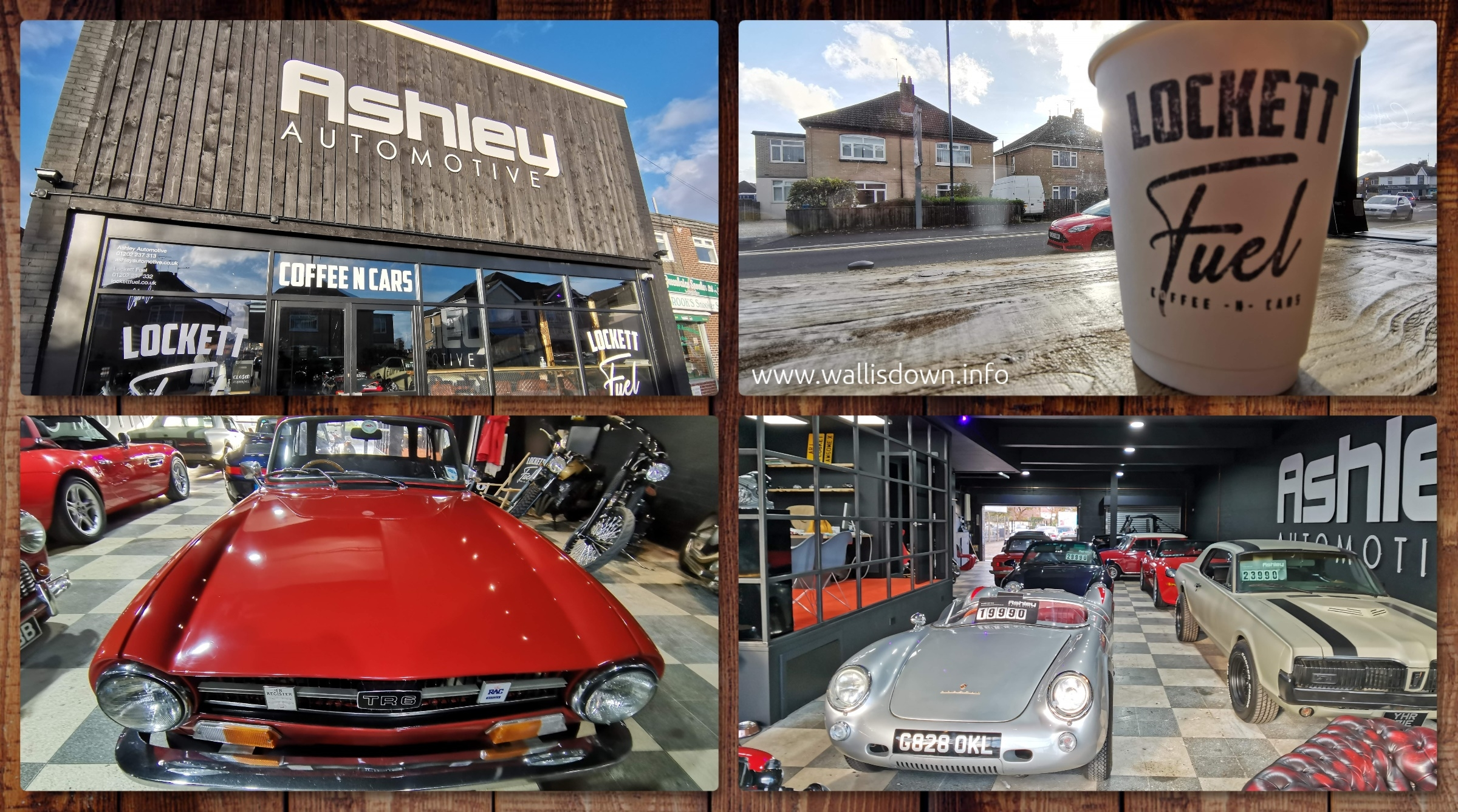 Coffee and Cars - a look around Ashley Automotive