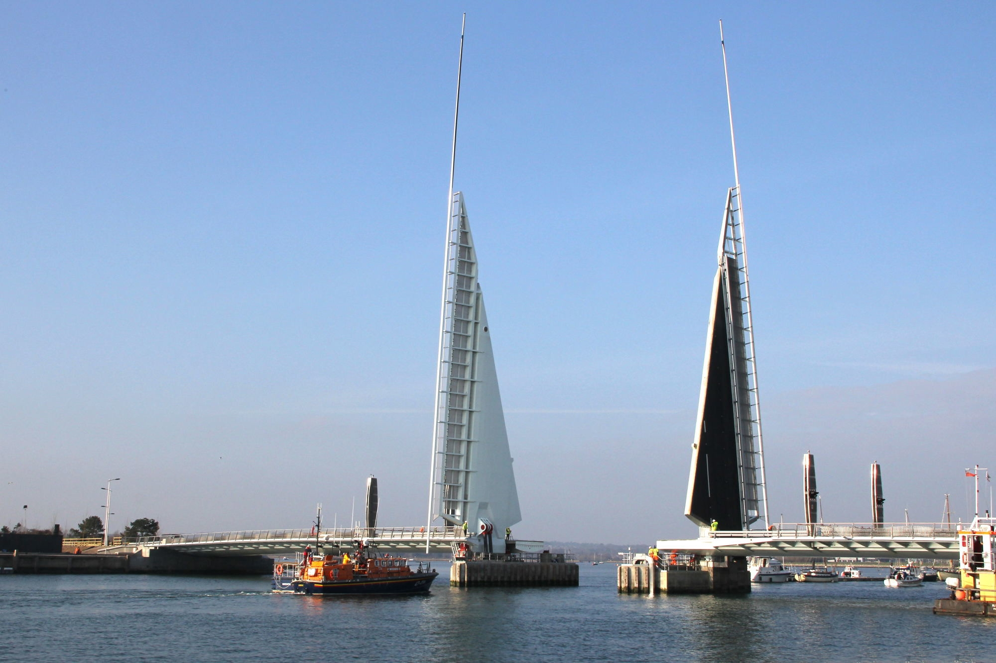 Twin Sails Bridge repair works to get underway